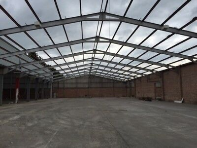 Second Hand 28.000 Mtr (92 Foot) Wide 30.480 Mtr (100 Foot) Long  Clear Span Por
