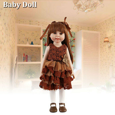 "18""/45cm Girl Reborn  Baby Doll Realistic Lifelike Toy Dolls Birthday Gift NEW"