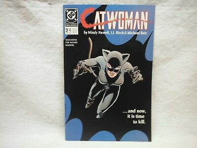 Catwoman #3 Of 4 April 1989 Comic Book