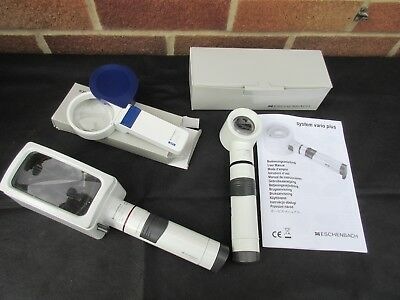 Eschenbach Low Vision Magnifiers X3 Job Lot 2 Are Led All Gwo