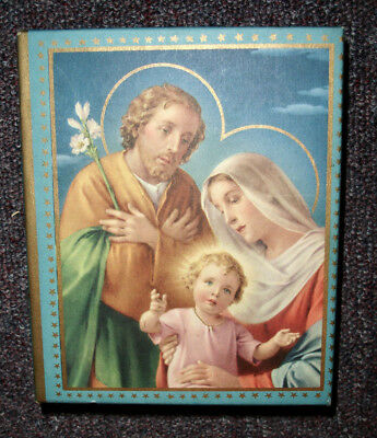 Vintage 1950s Relgious Christmas Card Box With No Cards