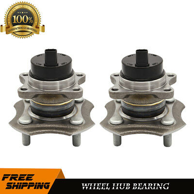 2 New Rear Wheel Bearing Hub Set w/ABS For 2000-2005 Toyota Echo 2004-2006 Scion