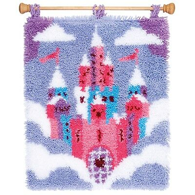 Vervaco - Latch Hook Rug Kit - Fairytale Castle -  PN-0157784