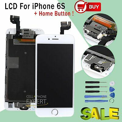 Complete Full LCD For iPhone 6S White Touch Screen Replacement Digitizer Camera