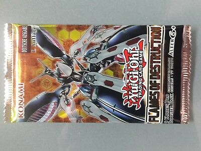 Yu-Gi-Oh! Flames of Destruction 10 Booster neu & OVP