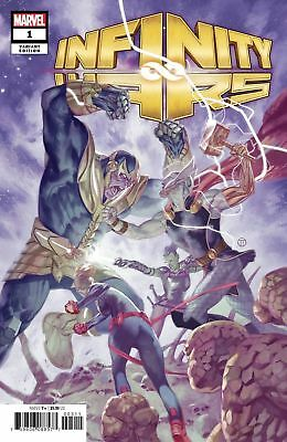Infinity Wars #1 - 1/50 JULIAN TOTINO TEDESCO Variant NM In stock Fast Shipping