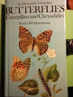 A COLOR GUIDE TO FAMILIAR BUTTERFLIES, Caterpillars and Chrysalides - J. Moucha