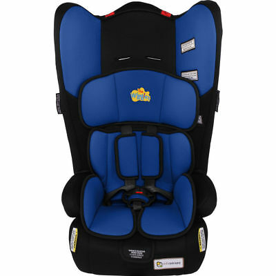The Wiggles InfaSecure  Rally II Convertible Car Booster Seat BLUE ANTHONY 0-8yr