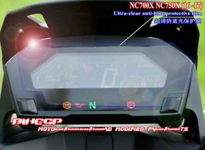 For HONDA NC700X NC750X Motorcycle Ultra-clear Anti-blue Cluster Protective Film