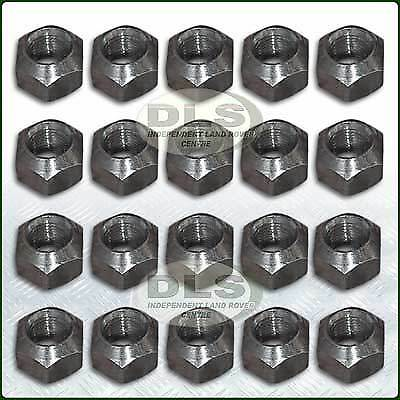 """27mm(1.1/6"""") Steel Wheel Nut x 20 Land Rover Disco 1 and RR.Classic (RRD500010)"""