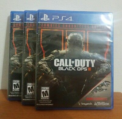 call of duty black ops 3 iii ps4 game brand new sealed chf picclick ch. Black Bedroom Furniture Sets. Home Design Ideas