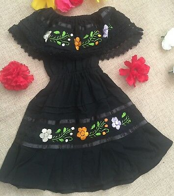 Mexican Embroidered Toddker Dress Size 24 Months