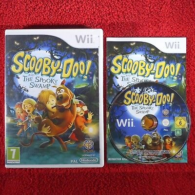 Scooby Doo And The Spooky Swamp Nintendo Wii Pal 7 Adventure