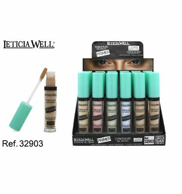Anti-cernes leticia WELL  correcteur de teint rougeur bouton maquillage beauté