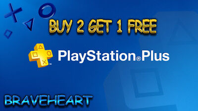 PS PLUS 14 DAY -PS4-PS3-PS VITA - PLAYSTATION (US-UK Region)