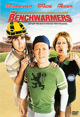 The Benchwarmers DVD 2006 David Spade Jon Heder Comedy FAST FREE SHIPPING