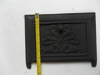 Cast Iron damper/choke plate for reproduction or antique fireplace