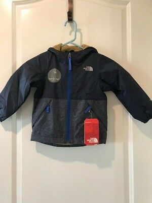 46b7729a4 THE NORTH FACE Toddler Boys Warm Storm Jacket Cosmic Blue NWT MSRP $65.00