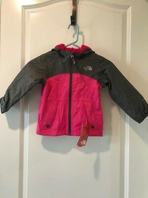 8352d0164 THE NORTH FACE Toddler Girls Warm Storm Jacket Petticoat Pink NWT MSRP  $65.00
