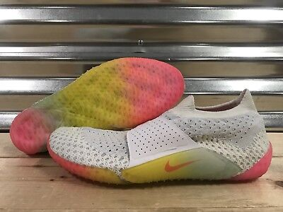 reputable site 19f62 cbeb5 WMNS Nike City Knife 3 Lifestyle Shoes Flyknit White Multi-Color SZ (896284-