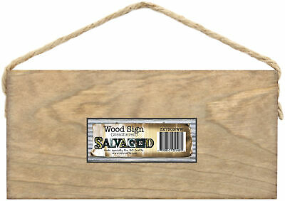 """Salvaged Blank Wood Sign 3""""X7"""" -Weathered Wood - 6 Pack"""