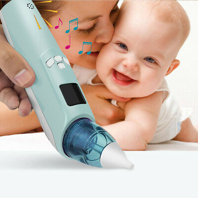 Baby Electric Nasal Aspirator Nose Snot Cleaner Suction for Newborn Infant