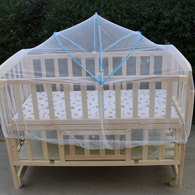 Mosquito Cover Net Fly Insect Protector for Baby Toddler Crib Bed Cot Nursery