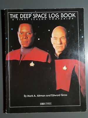 Star Trek Deep Space Nine - The Deep Space Log Book - Season 1 Companion 1994 UK
