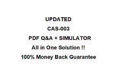 CompTIA Advanced Security Practitioner CASP Test CAS-003 Exam QA PDF&Simulator