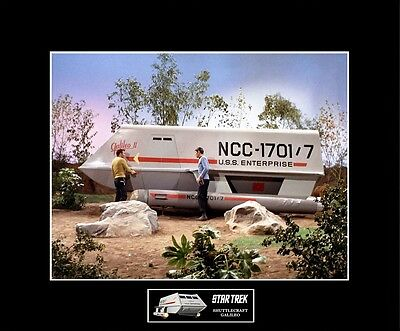 "STAR TREK TOS Shuttlecraft Galileo 8"" x 10"" Photo - 11"" x 14"" Black Matted"