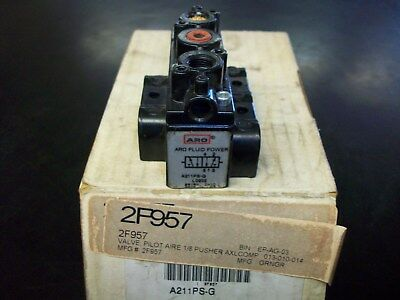 "ARO A211PS-G 2-Positions, 5-Ports 1/8"" NPT Pilot Pneumatic Air Valve"