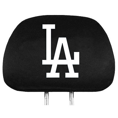 Los Angeles Dodgers Auto Head Rest Covers 2 Pack  NEW  MLB Car Seat Headrest 86db3e54a
