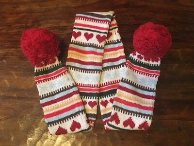 Gymboree mittens gloves scarf ear muffs accessory choice 2T 3T 4 5 6 7 8 9 10 EC