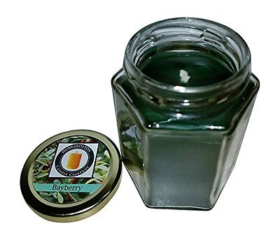 Bayberry Scented 100 Percent  Beeswax Jar Candle, 8 oz