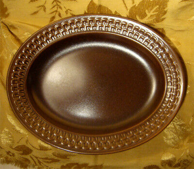 """Wedgwood """"pennine"""" Oval Serving Platter Oven To Table 12 3/4"""" Made In England"""