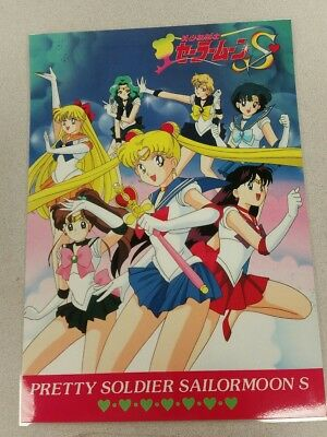 Sailor Moon S group poster 11x15 laminated.