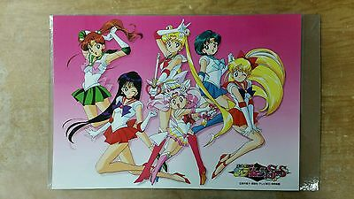 Sailor Moon Super S group poster 11x17 laminated.