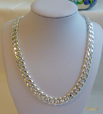 Stunning 925 Sterling Silver 2MM 4MM Classic Curb Necklace Chain Wholesale Price