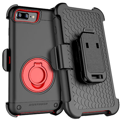 For iPhone 8 Plus 7 Xs Max Case Cover Belt Clip Holster with Kickstand 4Layer