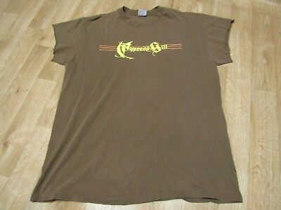 Vintage Cypress Hill Shirt XL Brown 90s 1990s
