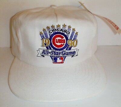 b7614567fe5 Vintage 1990 Chicago Cubs All Star Game Hat NWT American Needle Snapback Cap