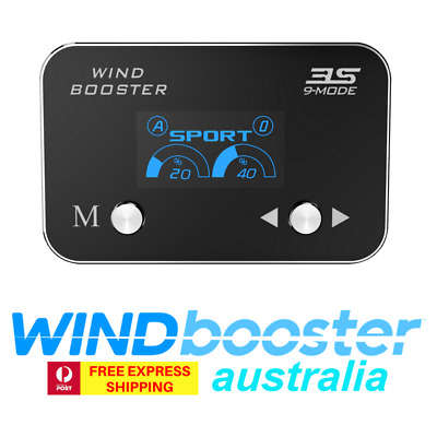 Windbooster 9-mode 3S throttle controller to suit Isuzu MUX 2012 Onwards