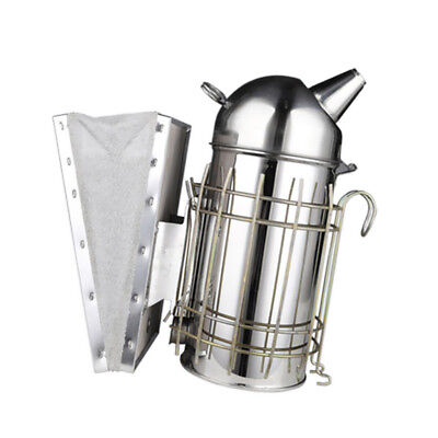 Beekeeping Tool Bee Hive Smoker with Heat Shield Protection 11inch Large