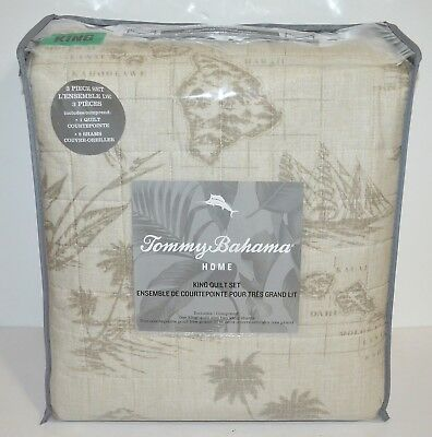 Tommy bahama vintage map beige king quilt cover shams 3 pc set tommy bahama vintage map beige king quilt cover shams 3 pc set bedding new gumiabroncs Image collections