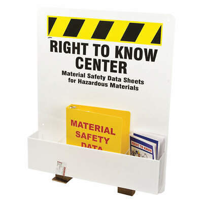BRADY Right to Know Complete Center, RK373E