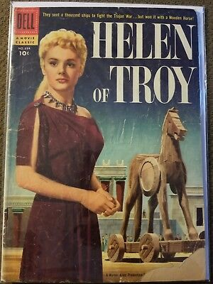 Helen Of Troy Dell Movie Classic (Four Color) Comic #684  From 1956