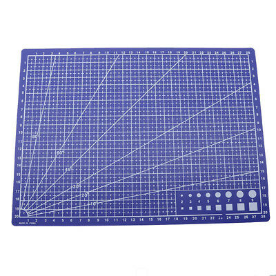 22 x 30cm / Patchwork Anti Cutting Board Cutting Plate Engraving Plate Supp I5T7