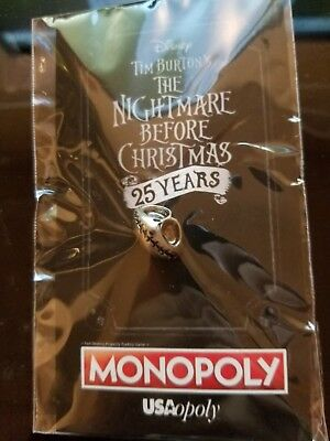 Nightmare Before Christmas Monopoly Jack Pin SDCC 2018 Exclusive Prize