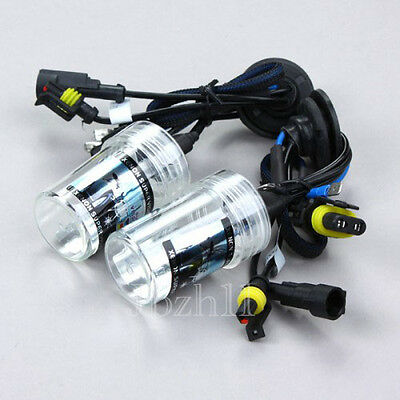 2xCar 55W HID Xenon Headlight Lamp Head Light For H3 Bulbs Replacement Universal