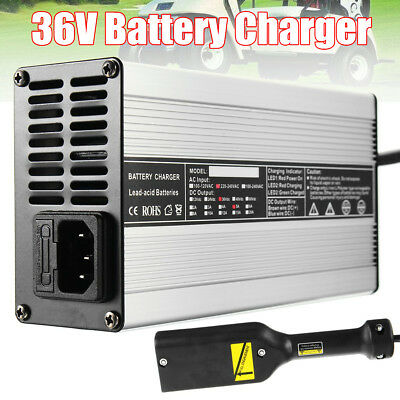 36V Electrocar Golf Cart Battery Charger For Yamaha EZGO Club Car Trickle Charge